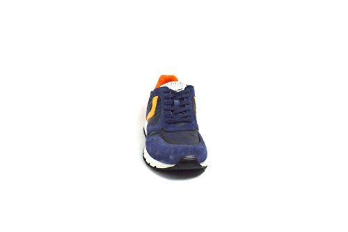 Voile Blanche Scarpa Uomo Sneaker Art. LIAMRACE9103 blu