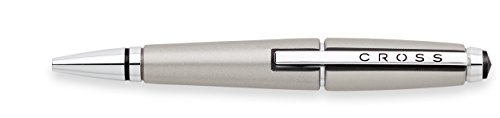 Cross Edge Capless Gel Ink Pen, Sonic Titanium (AT0555-5)