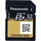 Panasonic AJ-P2M032AG 32GB MicroP2 Card