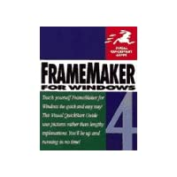 Framemaker 4 for Windows (Visual QuickStart Guides)