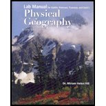 Lab Manual-Physical Geography, Gabler and Petersen, 0495565156