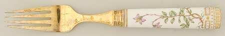 ロイヤルコペンハーゲン フローラダニカ(1961-) ディナーフォーク P [並行輸入品] B00M0G8P7C