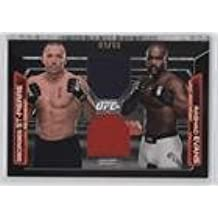 Rashad Evans; Georges St-Pierre #9/88 (Trading Card) 2016 Topps UFC Knockout - Dominant Duos Dual Relics #DDR-SE
