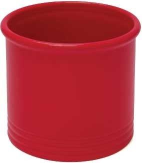 Chantal Utensil Crock Glossy True Red