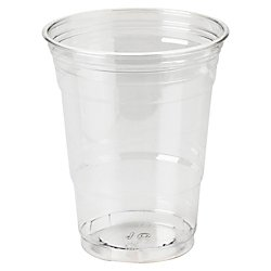 Dixie R Crystal Clear Plastic Cups, 16 Oz, Box Of 500