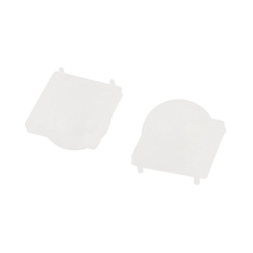 Aexit 2 Pcs DIY component White Dome Fresnel Lens for Pyroelectric Infrared IR PIR Motion Detector