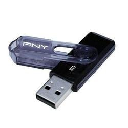 (PNY Mini Attache 8 GB USB 2.0 Flash Drive P-FD8GB / MINI-GE)