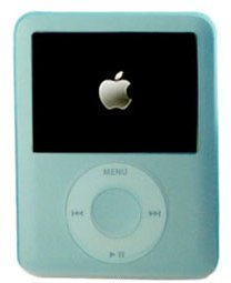 Light Blue Silicone Case/Skin/Protector/Cover for Apple 3rd Generation iPod Nano Video/Graphic, both Nano 4GB and Nano 8GB.