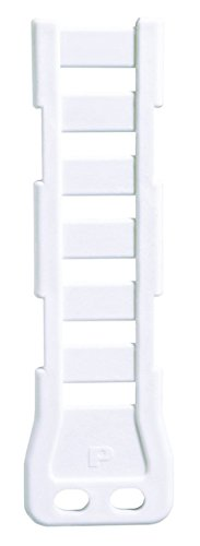 Panduit PPF2SV-S25-V69 Flat Pan-Post Standoff, 1/4-Inch Screw, Flame Retardant Nylon 6.6 (5-Pack) ()