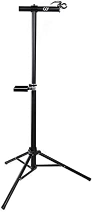 CyclingDeal Full Aluminum Bike Repair Stand - Home Portable Mechanics Workstand - Great for Mountain Road Bike