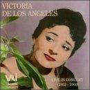 Victoria de Los Angeles- Live In Concert 1952-1960