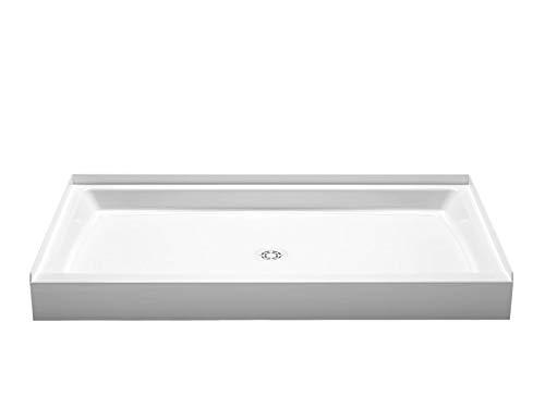 PROFLO PFSB6034WH Single Curb Rectangular Shower Pan (60