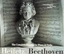 Price comparison product image Beethoven: The Complete Sonatas for Violin and Piano - Heifetz - (Import)(24 Bit)