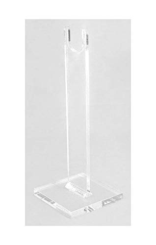 (Easels by Amron Rifle, Long Gun Display Stand, for Displays and Shows, Clear Acrylic (10