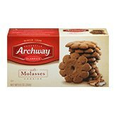Archway  Classic Soft Old-Fashioned Molasses Cookies, 9.5 Ounce