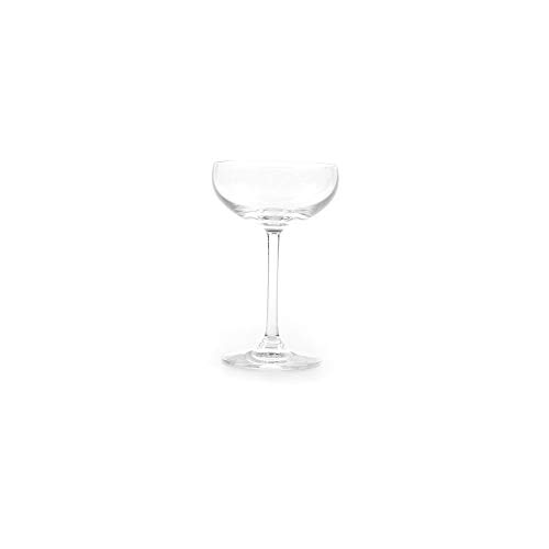 Stolzle Lausitz Classic German Made Crystal Coupe Champagne Cocktail Glass, Set of 6