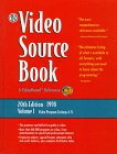 The Video Source Book, Schell, Terri, 0787611573