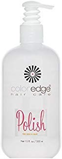 COLOR EDGE Hair Care POLISH For Skin & Hair w/AVOCADO OIL/Frizzy Hair 12oz ()
