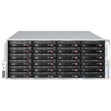 Supermicro SC847 E26-RJBOD1 - Rack-mountable - 4U - no power supply - black