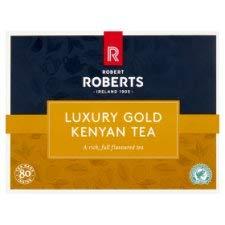Robert Roberts Luxury Kenyan Fairtrade Tea 80 ()