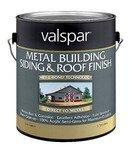 Valspar Metal Siding And Roof Finish