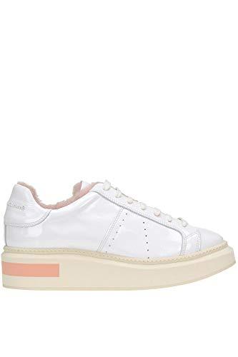 Donna Sneakers Pelle Manuel Mcglcak000004040i Bianco Barceló 6nEwxg