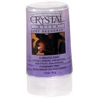Crystal Body Deodorant Travel Stick-1.5 oz, 2 pk