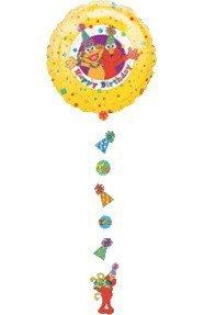 Sesame Street Drop-A-Line Foil Mylar Balloon - Drop A-line Balloon