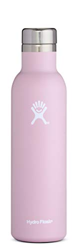 Hydro Flask 25 oz Wine Bottle | Stainless Steel & Vacuum Insulated | Leak Proof Cap | Lilac
