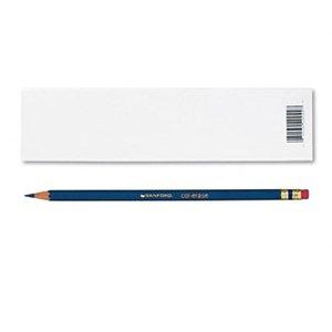 Prismacolor Col-Erase Erasable Colored Pencil INDIGO BLUE Set/12