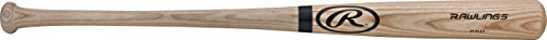 Rawlings Wood Baseball Bat (Rawlings  Adirondack Natural Ash Wood Bat, 34