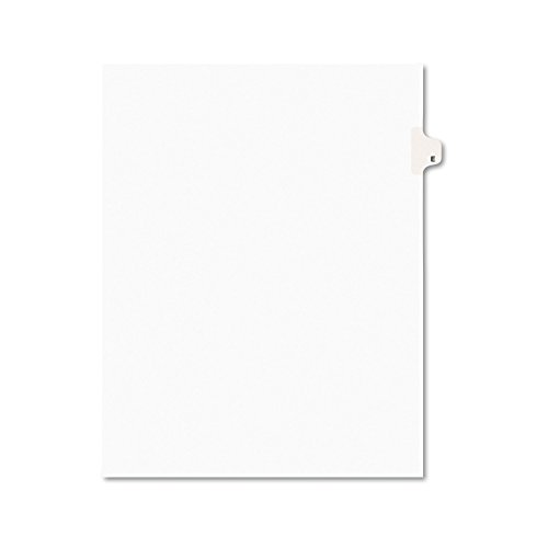 Avery Legal Dividers, Premium Individual Tab Titles, Letter Size, Side Tabs, E, Pack of 25 (Avery Individually Lettered Tabs)