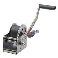 Dutton Lainson DL1400AS 1400 lb Plated Pulling Winch with 20- Feet Strap