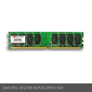 DMS Compatible/Replacement for Dell N2926 Dimension 4700 256MB DMS Certified Memory DDR2-400 (PC2-3200) 32x64 CL3 1.8v 240 Pin DIMM - DMS