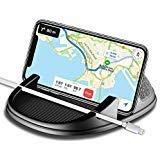 Car Phone Holder, Avanz Car Phone Mount, Universal Anti-Slip Silicone Dashboard Car Pad Mat for iPhone X/8 Plus/7 Plus/6/6S Plus, Samsung Galaxy S9/S8/Note 8/S7 3.5-7 inch Smartphone