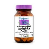 Bluebonnet Nutrition Probiotic Acidophilus Plus Fos, 50VC (Pack of 2)