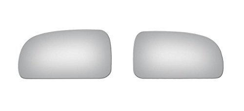 Burco Left & Right Mirror Glass for Rainier, Trailblazer, Envoy, ()