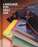 Language for Daily Use Voyager Edition, Strickland, 0153167351