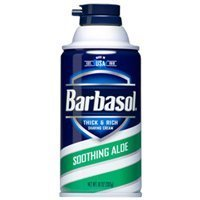 Price comparison product image Barbasol Soothing Aloe Thick & Rich Shaving Cream 10 Oz