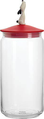 (Alessi AMMI21 R Lula' Jar Container, red, red)