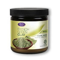 French Green Clay (Unscented) Life Flo Health Products 7.5 oz Powder