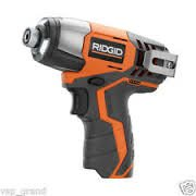 Quick Change Removable Chuck (Ridgid R82230N 1/4 Inch 12 Volt Lithium Ion 1,100 In. Lbs. Impact Driver (Battery Not Included, Power Tool Only))