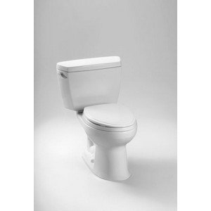 Drake Elongated Toilet 2 Piece by TOTO