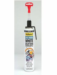 McKanica 314 Power Can White Silicone Sealant by McKanica