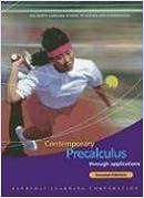 Contemporary Precalculus through Applications, Student Edition