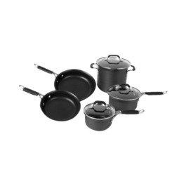 Kitchen Essentials From Calphalon 8 Piece Hard-anodized Nonstick Set