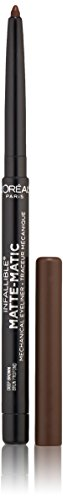 L'Oral Paris Infallible Matte-Matic Mechanical Eyeliner, Deep Brown, 0.01 oz.