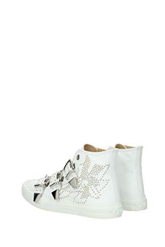 EU CHC18S21091 Cuir Femme Chloé Sneakers Blanc t8RwRIWq