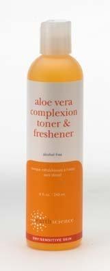 Earth Science Aloe Vera Complexion Toner & Freshener with Aloe Vera, sea kelp & hyaluronic Acid - Alcohol Free, 8 ()