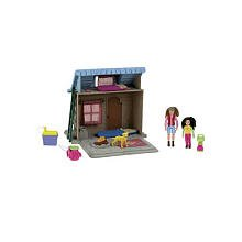 (Fisher Price Loving Family Camping Cabin with Accessories)